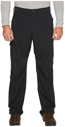 Columbia Big Tall Silver Ridge Stretch Pants (Black) Men's Casual Pants