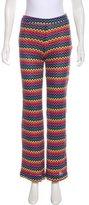 Trina Turk Knit Mid-Rise Pants
