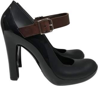 Marni \N Black Rubber Heels