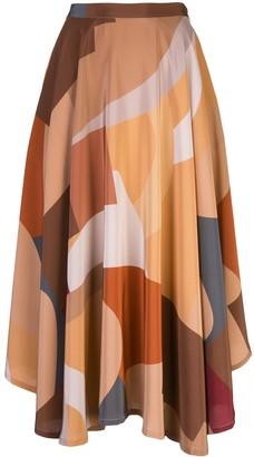 Lhd High-Waisted Skirt