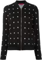 McQ swallow zip cardigan