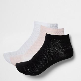 River Island Multicoloured trainer socks multipack
