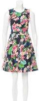 Karen Millen Floral Printed Mini Dress