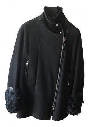 Ventcouvert Black Mongolian Lamb Coats