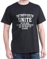 CafePress - Introverts Unite - Comfortable Cotton T-Shirt