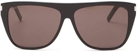 65e05a4350 Yves Saint Laurent Frame Sunglasses - ShopStyle