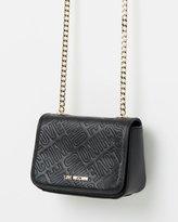 Love Moschino Love Embossed Crossbody Bag