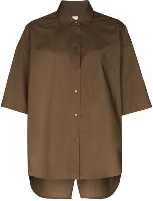 Lee Mathews Oversized Cotton Shirt