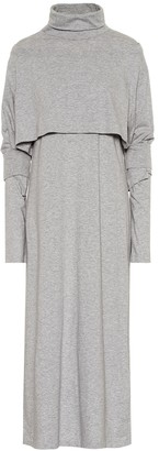 MM6 MAISON MARGIELA Cotton-jersey midi dress