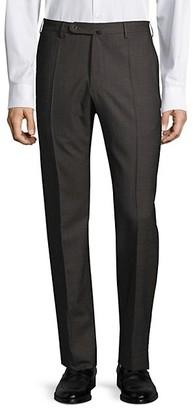 Joe's Jeans Benson Straight-Leg Wool Trousers