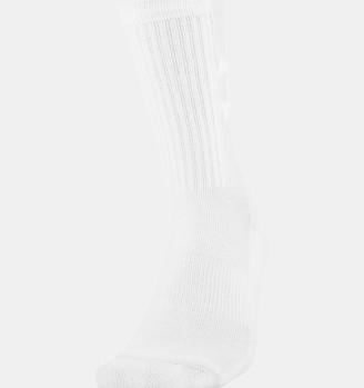 Under Armour Unisex UA Game & Practice Crew Socks - 2-Pack