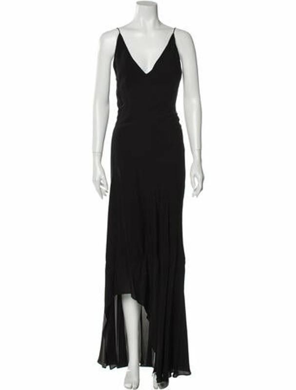 Narciso Rodriguez 2020 Long Dress Black