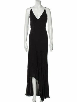 Narciso Rodriguez 2020 Long Dress Black
