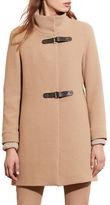Lauren Ralph Lauren Basket-Weave Wool-Blend Coat