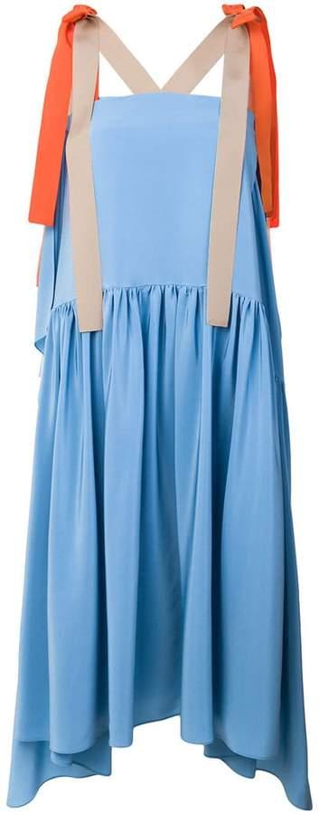 Fendi flared midi dress
