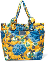 Marc by Marc Jacobs Lil Tate embroidered floral-print shell tote