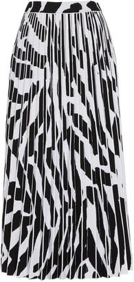 Proenza Schouler Pleated Chiffon Midi Skirt