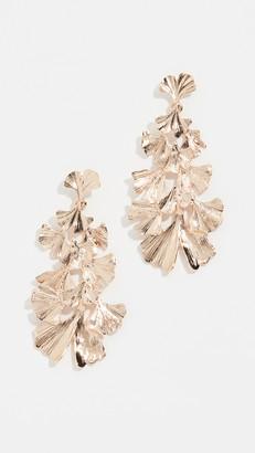 Stella + Ruby Leaf Dangle Earrings
