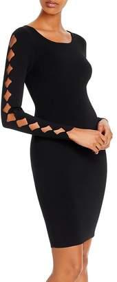 Milly Diamond Cutout Bodycon Dress