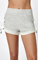 KENDALL + KYLIE Kendall & Kylie Lacing Jogger Shorts