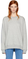 032c Grey religious Services Sweatshirt