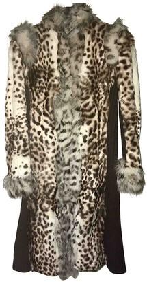 Class Cavalli Fur Coat for Women