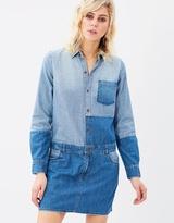 Current/Elliott Whitney Coverall Shirt Dress