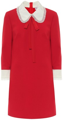 RED Valentino Stretch-cady minidress