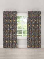 Skyline Furniture Animal Print Blackout Linen Curtain