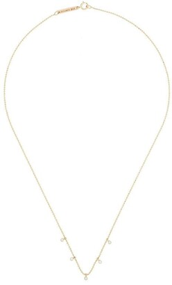 Zoë Chicco 14kt Yellow Gold Floating Diamond Necklace
