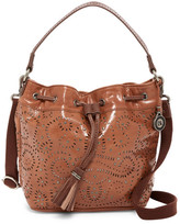 The Sak Ukiah Leather Drawstring Bucket Bag
