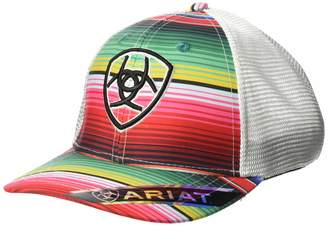 Ariat Women's Serape Center Shield Mesh Snap Cap
