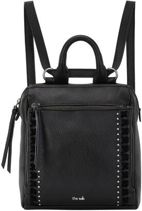 The Sak 108224BLA Loyola Zip Top Backpack