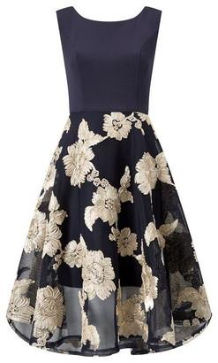 Ariella London Ashani Tapework Dress