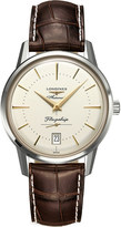 Longines L4.795.4.78.2 flagship heritage collection stainless steel watch
