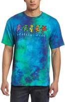Liquid Blue Men's Grateful Dead Dancing Bear Tee, Multi