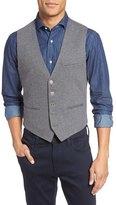 Eleventy Jersey Button Vest
