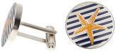 Cufflinks Inc. Striped Starfish Cuff Links