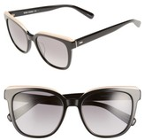 Bobbi Brown Women's The Bardot 53Mm Gradient Sunglasses - Black