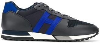 Hogan H383 retro running sneakers