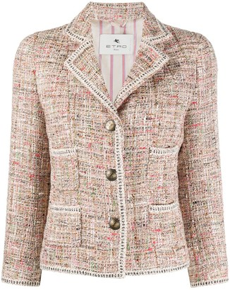 Etro Boucle Tailored Jacket