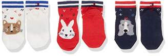 Tommy Hilfiger Baby TH SOCK 3P GIFTBOX,(pack of 3)