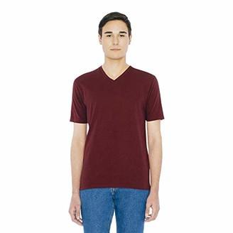 American Apparel Men's Fine Jersey Classic Short Sleeve V-Neck T-Shirt