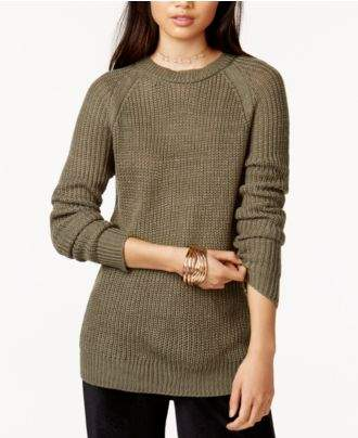 BB Dakota Percival Crew-Neck Cutout Sweater