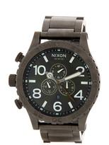 Nixon Men&s 51-30 Chrono Bracelet Watch