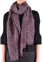 Altea Women's Purple Wool Scarf.