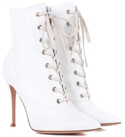 Gianvito Rossi Neville lace-up ankle boots