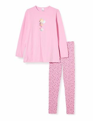 Schiesser Girl's Prinzessin Lillifee Md Schlafanzug Lang Pyjama Set