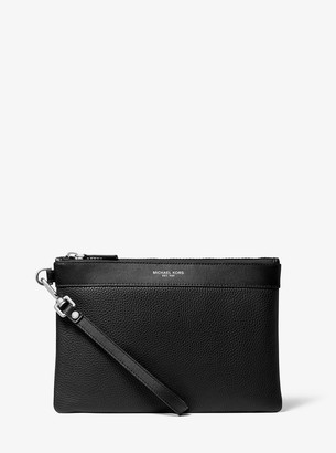 Michael Kors Pebbled Leather Travel Pouch