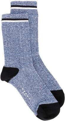 Marni Striped Trim Socks